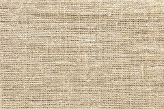 Canvas fabric Stock Image