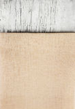 Texture canvas fabric Stock Image