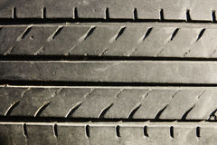 Texture of a car's truck tires. In horizontal mode Royalty Free Stock Photos
