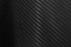 Texture of Carbon Fiber Sticker.Luxury black material Royalty Free Stock Photography