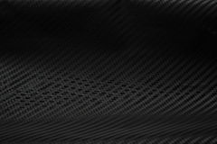 Texture of Carbon Fiber Sticker.Luxury black material Stock Images