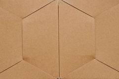 Texture of cardboard box Stock Photo
