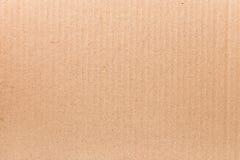 Texture of cardboard Royalty Free Stock Photos
