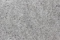 Macro of grey cardboard texture Royalty Free Stock Images