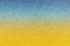 Texture of cardboard stylized beach and sky Royalty Free Stock Photos