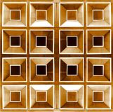 Texture carrée en bois Images libres de droits
