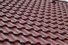 Texture carrelée de toit image stock