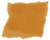 Isolated Fiber Paper Texture - Carrot Orange XXXXL Royalty Free Stock Photography