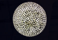 Texture of ceiling lamp Stock Photos