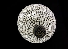 Texture of ceiling lamp Royalty Free Stock Photos