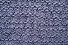 Texture cellulaire tricotée de couleur violette Image stock