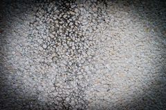 Texture of cement wall apply with pebble Stock Photography