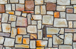 Texture of Cement Wall Fence Stone day Stock Photography