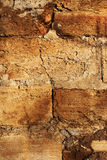 Texture cement wall. Old stone walls of city buildings Royalty Free Stock Photo