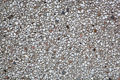 Texture of cemented stones marble and granite Stock Image
