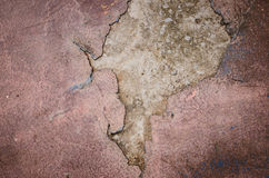 Texture from characteristic decayed Venetian plaster Stock Photography