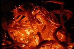 Texture chaude d'incendie Photo stock