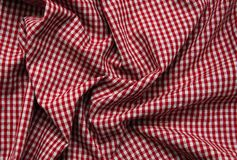 Texture of checkered fabric. Texture of the  checkered fabric pattern background Royalty Free Stock Image
