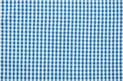 Texture of checkered fabric. Texture of the  checkered fabric pattern background Royalty Free Stock Photos