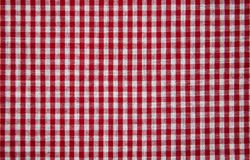 Texture of checkered fabric. Texture of the  checkered fabric pattern background Stock Photos