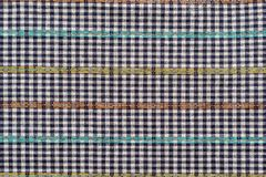 Texture of checkered fabric Stock Photography