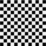 Texture checkered noire et blanche sans joint Photos libres de droits