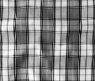 Texture of checkered picnic blanket. Stock Photography
