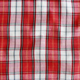 Texture of checkered picnic blanket. Royalty Free Stock Photos