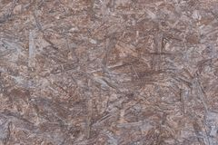 The texture of the chipboard brown. Color Stock Images