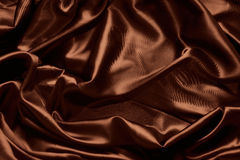 Texture of Chocolate silk Royalty Free Stock Photos