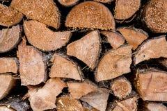 Texture of chopped pine tree wood Stock Photo