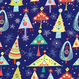 Texture Christmas Trees vector illustration