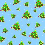 Texture of Christmas trees Royalty Free Stock Image