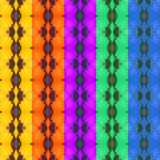 Texture cinq colorée d'aile de papillon Photo libre de droits