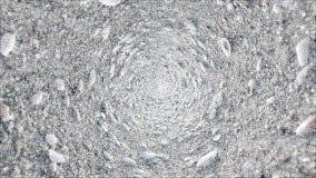 Texture circulaire de fond de coquillages Image libre de droits