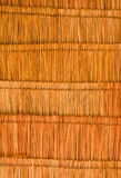 Texture of the classic thatch roof from inside vie Royalty Free Stock Image
