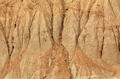 Texture of clay Stock Images