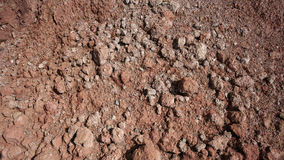 The texture of the clay. The texture of the red clay wall of a large clay pit stock photos