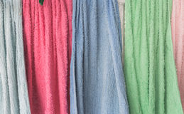 Texture of cleaning cloth Royalty Free Stock Images