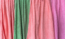 Texture of cleaning cloth Stock Photo