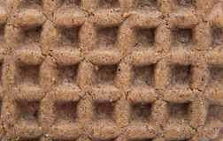 Texture close up of chocolate wafers Royalty Free Stock Photography