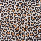 Texture of close up print fabric stripes leopard Stock Images