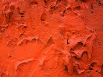 Texture. Close up texture of red plaster wall Stock Image