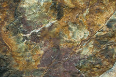 Texture, close-up of wall rocks Royalty Free Stock Photography