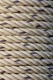 Texture closeup Coil rope Royalty Free Stock Images