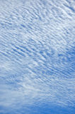 Texture of cloud on sky Stock Photography