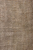 The texture of coarse burlap closeup Royalty Free Stock Images