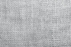 The texture of coarse burlap closeup Royalty Free Stock Photo