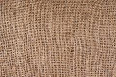Texture of coarse burlap Stock Photo