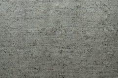 Texture of coarse cloth. Thick, gray-green, sackcloth, quarterback sack, close-up stock photo